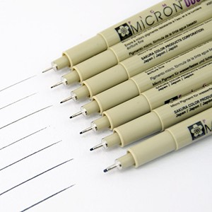 Sakura Pigma Micron Pen For Architectural Sketching