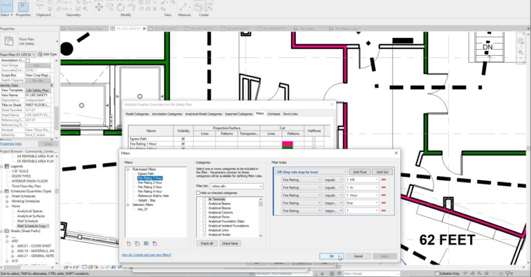 Revit 2019 Or Filter View
