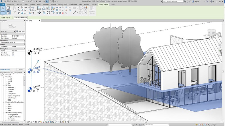 how to get good line views in revit