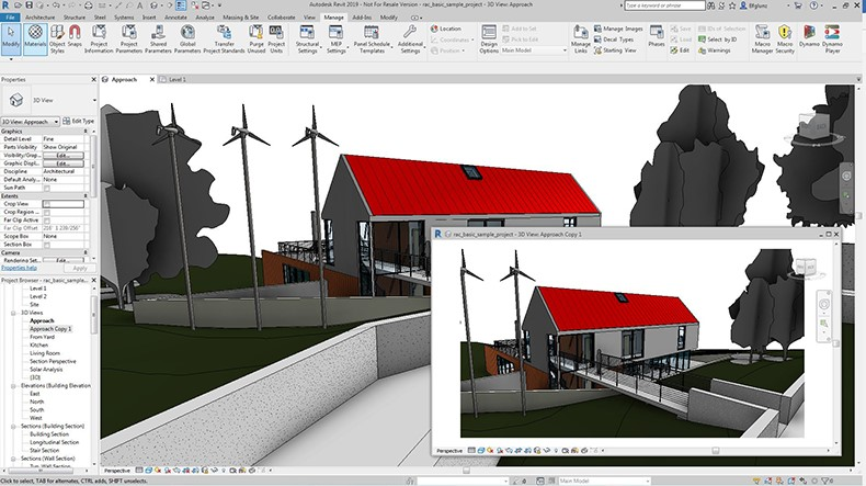 Revit 2019 Uncropped Views