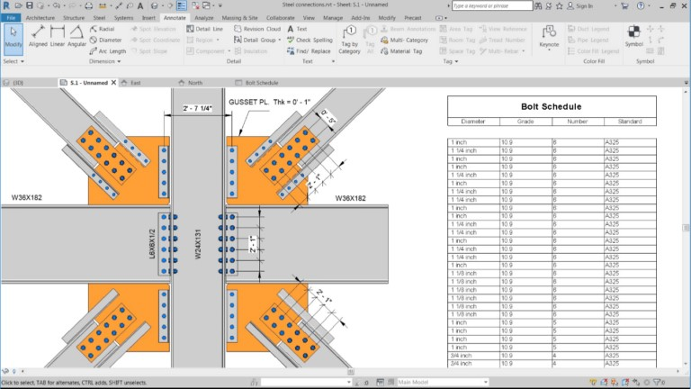 Revit 2019 Steel Design Feature Improvements