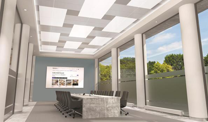Armstrong Ceilings DesignFlex Ceiling Systems