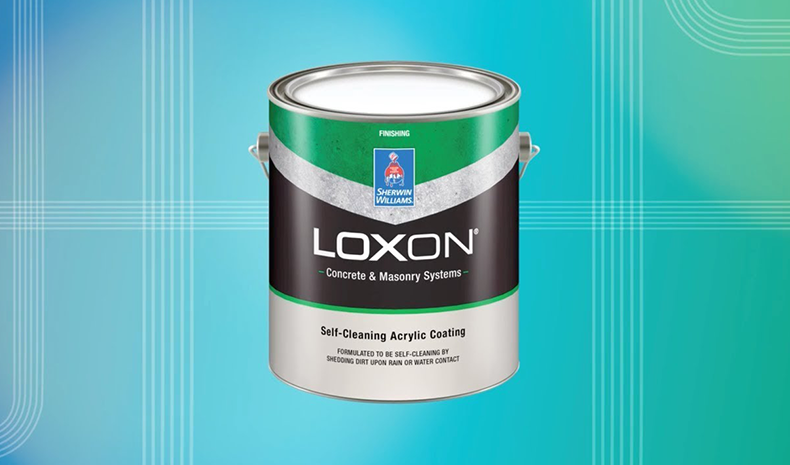 Sherwin-Williams Loxon Self-Cleaning Acrylic Coating