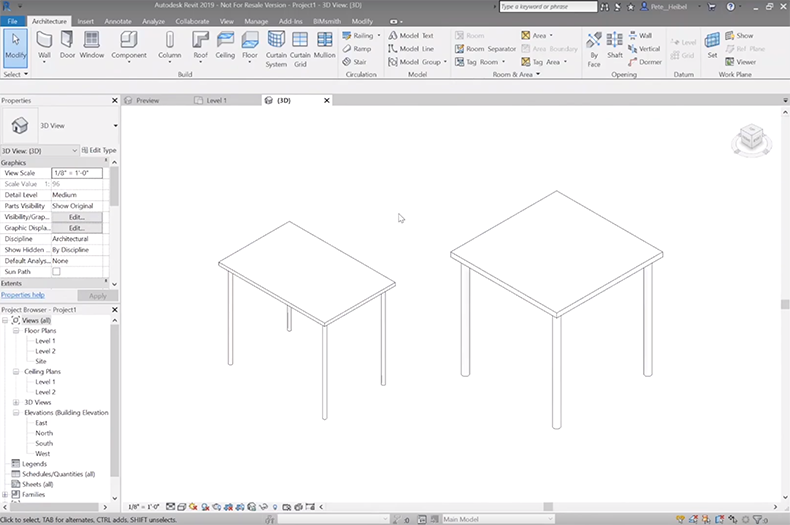 Intro To Revit Family Creation How To Create A Revit Family Step By Step