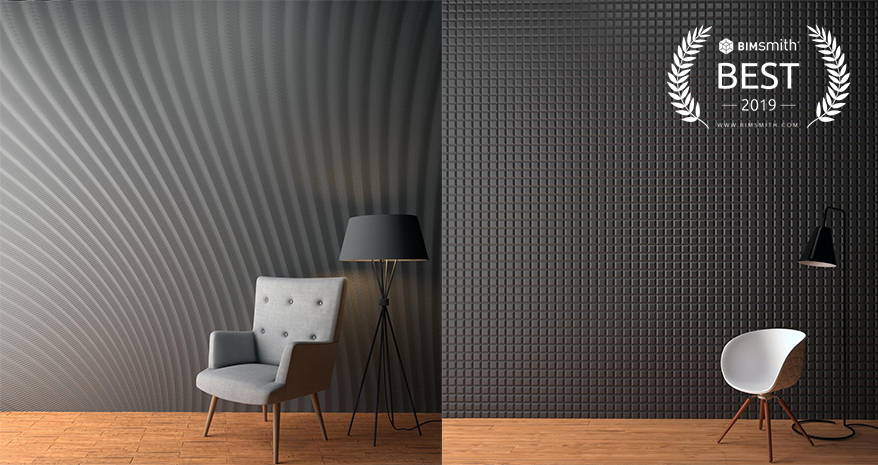 M.R. Walls by Mario Romano by Corian Design BIMsmith Best Award 2019
