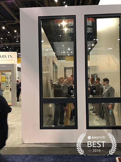 Marvin Modern Push Out Casement by Marvin Windows and Doors BIMsmith Best Award 2019