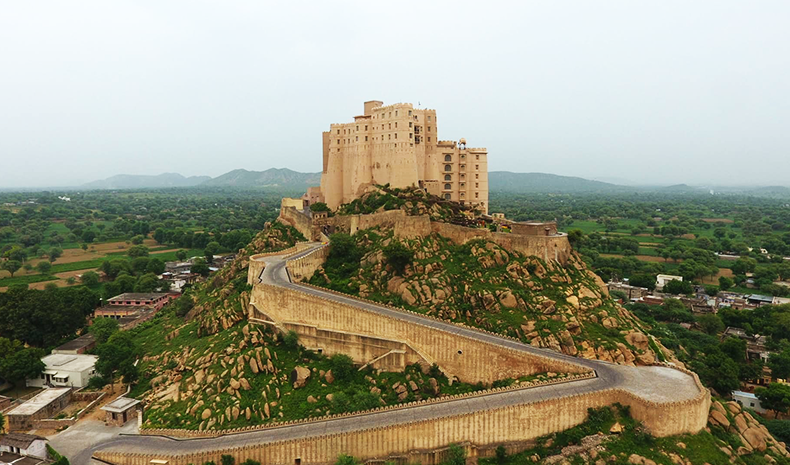 Alila Fort Bishangarh in Rajasthan, India