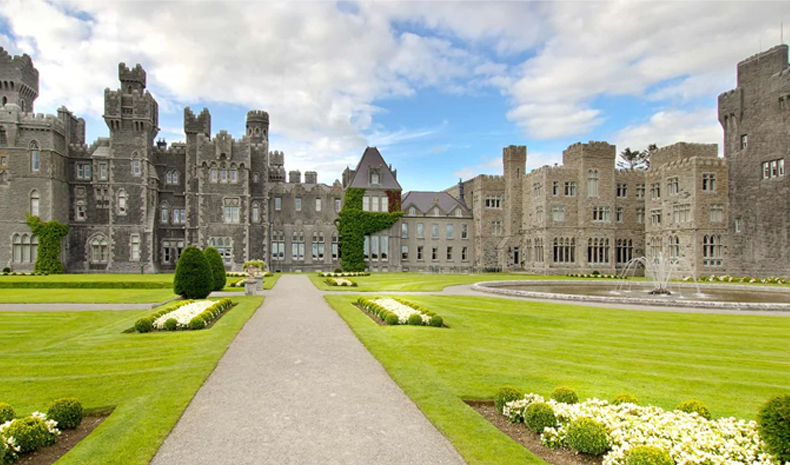 Ashford Castle in Mayo, Ireland