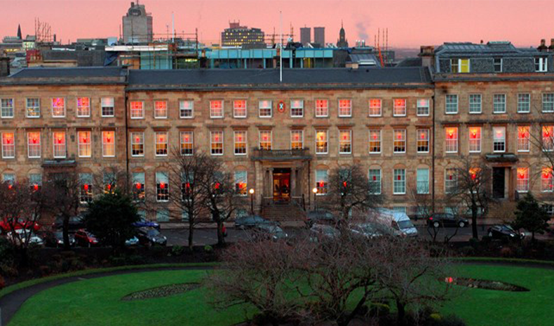 Blythswood Square Hotel in Glasgow, United Kingdom