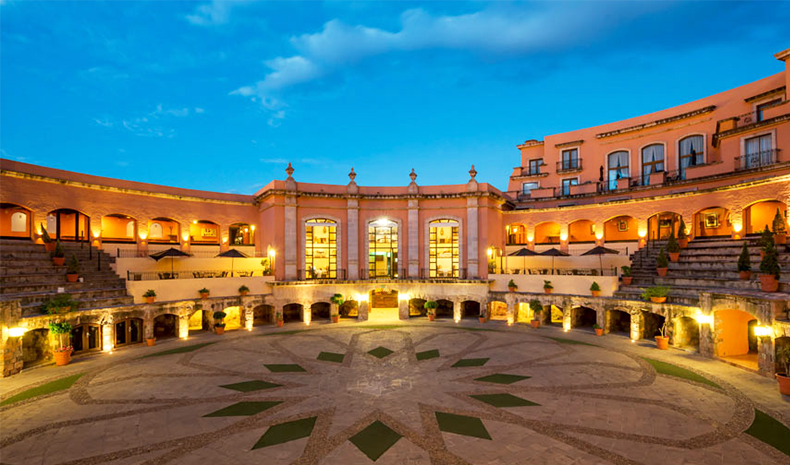 Hotel Quinta Real in Zacatecas, Mexico