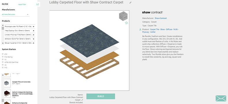 Carpet in Revit with BIMsmith Forge