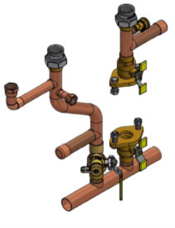 Free Piping Revit Download – 807000213 - Heat Only - Primary