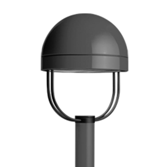 Free Site Lighting Revit Form Ten Round Post Top