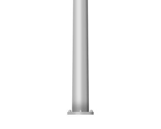 Free Outdoor Lighting Revit Download – Straight Round Steel