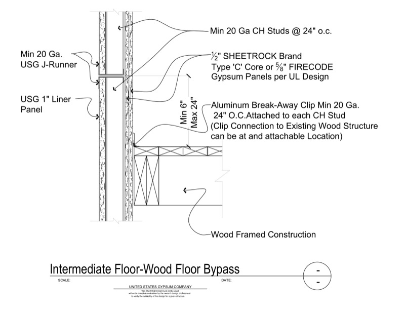 Design Details Details Page Shaft Wall Intermediate
